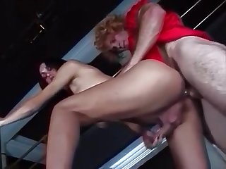 Latin sheboys gangbang A Redhead stud