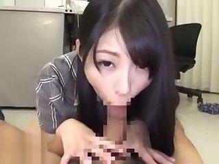 Jav teacher caughts coworker masturbating