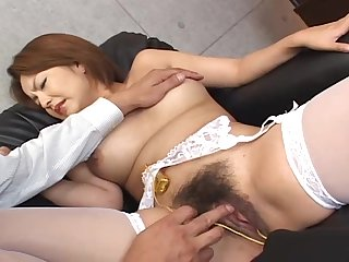 hairy pussy mature needs more than a penis for the orgasm