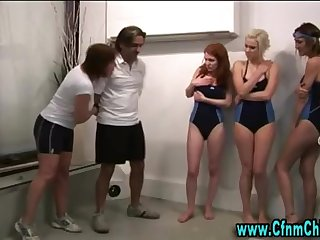 Bathing Suit cfnm british beotches predominate