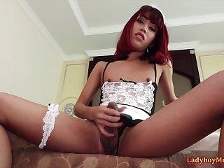 Ladyboy Maid Many Ass Toyed And Fucked Bareback