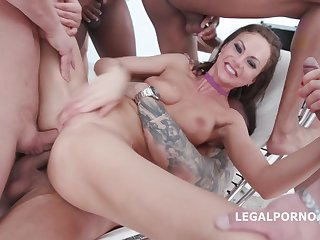 Happy B-day Tina Kay 10o1 DAP Gangbang With Balls Deep Butt Sex Intimacy Squirting Gapes 11 Cumshots - HARDCORE MOVIE