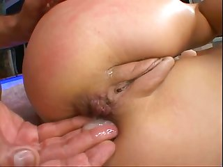 Brit Roxy Gets Double Fuck With New Friends