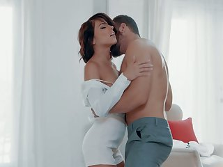Beautiful and passionate sex with adorable brunette Adriana Chechik