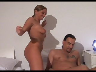 German MILF is having all the fun by being a horny perverted woman