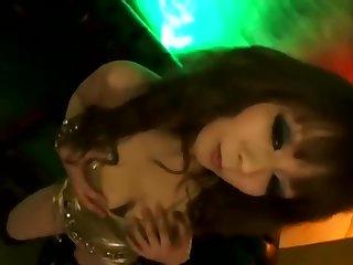 Japanese pantyhose dancer 1