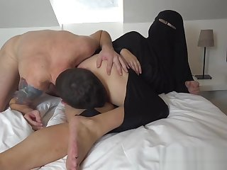 Muslim woman gets punished by angry husband