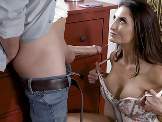Nice fucking in all holes with mature mommy Silvia Saige. HD
