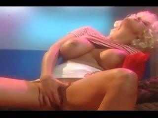Antique Ultra-Cutie Plays With Her Cock-Squeezing Snatch And Ginormous Baps